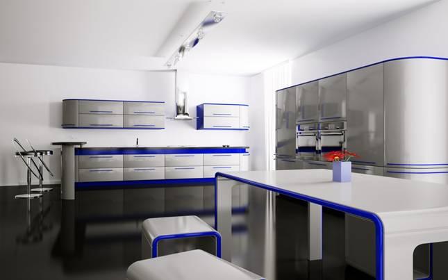 Серо-голубой дизайн