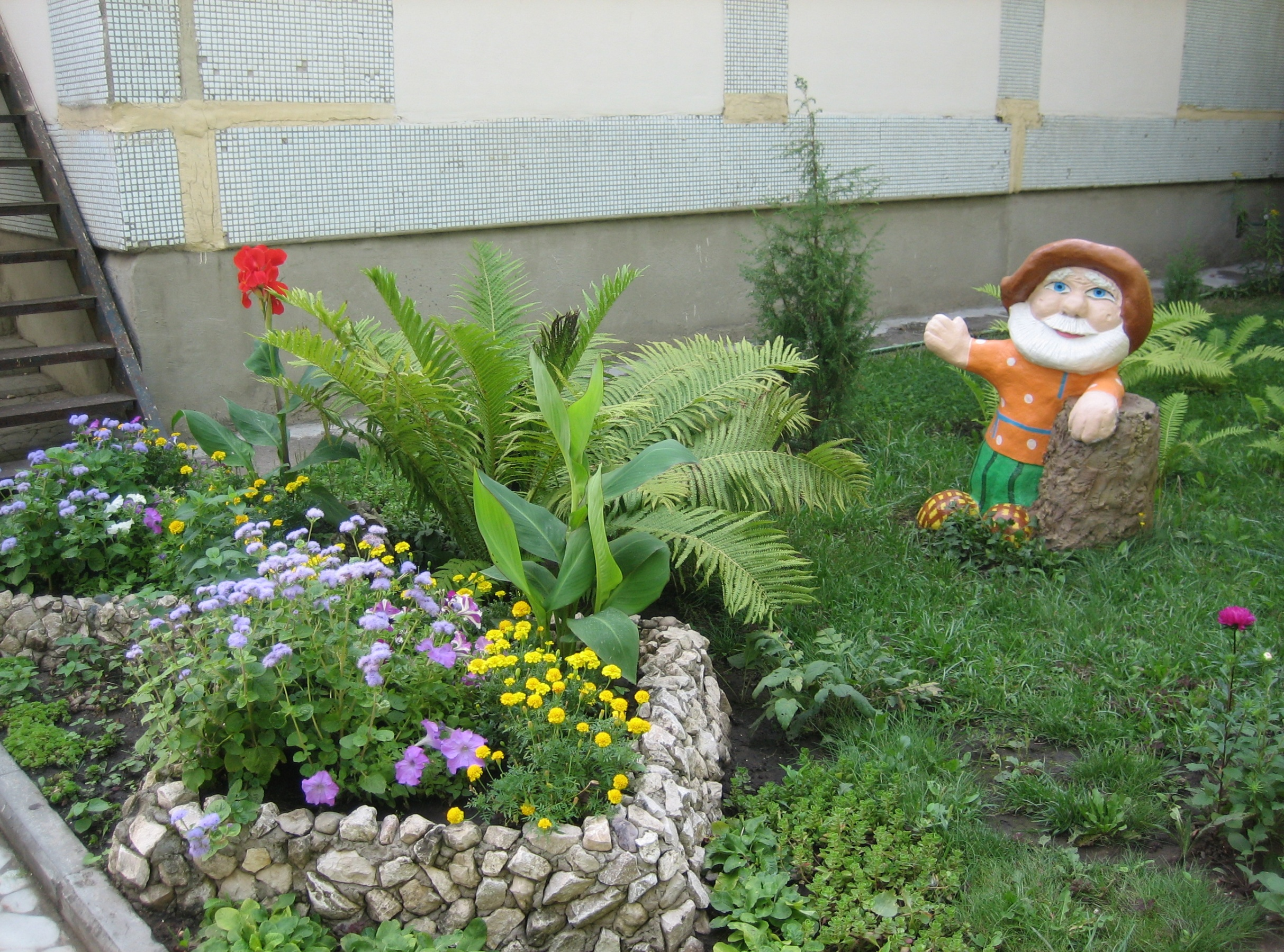 Огород в детском саду оформление своими руками фото 214