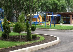 ландшафтный дизайн в детском саду