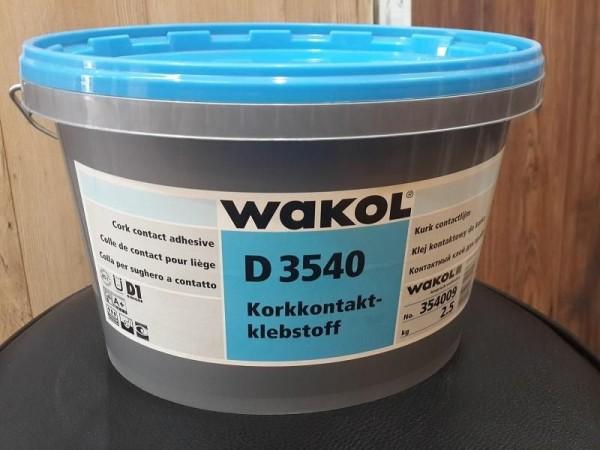 Латексный клей WAKOL для пробковых покрытий