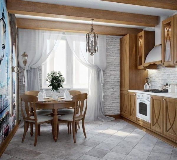 Легкие, прозрачные шторы, создающие уютную атмосферу.