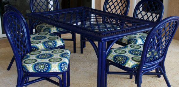 Материал подойдет для окраски мебели, используемой на открытом воздухе