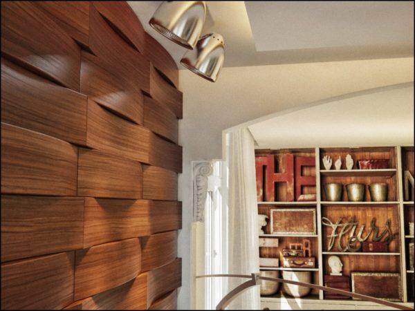 МДФ плиты лучше использовать только в сухих помещениях