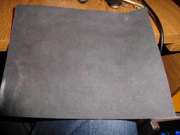 Мелкозернистая бумага нужна для тонкой шлифовки и полировки.