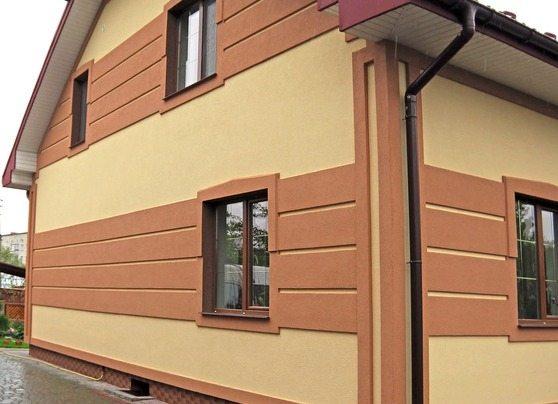 Минеральные покрытия обычно используют для покраски фасадов