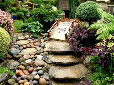 Миниатюрный японский сад – отличное решение даже для самых маленьких территорий