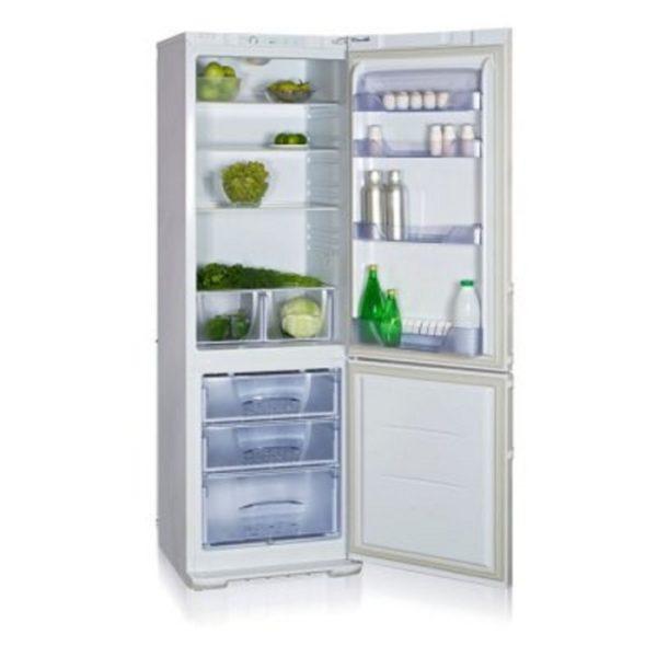Модель Бирюса 127 имеет нижнее расположение морозильной камеры, как и все современные холодильники