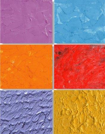 Возможные фактуры масляного покрытия