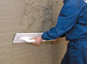 Выравнивание бетонной стены