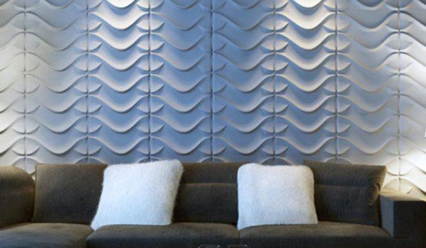 Мягкие стеновые 3D панели – новое веянье современной моды.