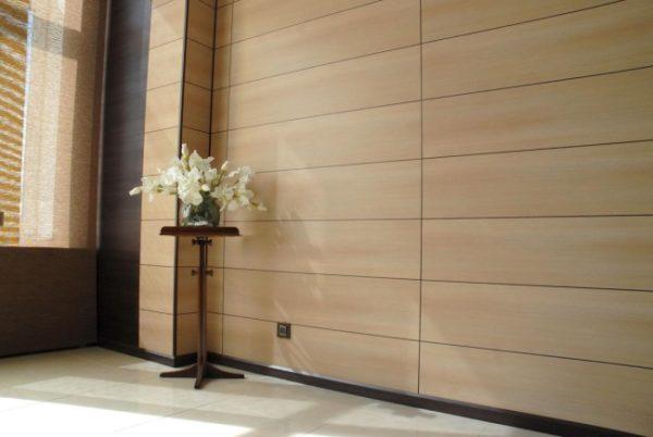 На фото: если работа проведена аккуратно, то стены смотрятся отлично