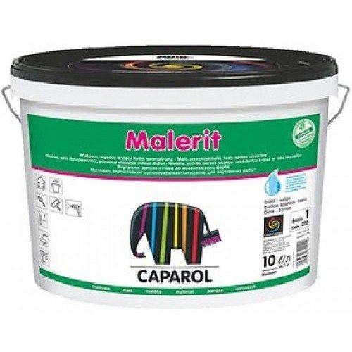 На фото — краска для внутренних работ Caparol Malerit, обладающая повышенной износоустойчивостью