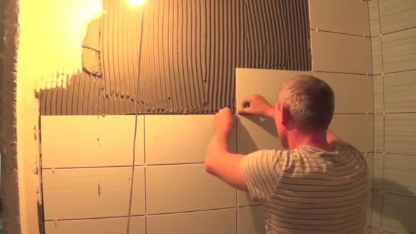 На фото: отделка в ванной должна быть не только привлекательной, но и надежной