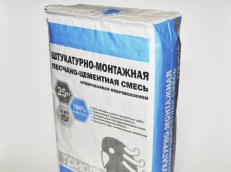 На фото штукатурная смесь с фиброволокном — прочный и долговечный отделочный материал