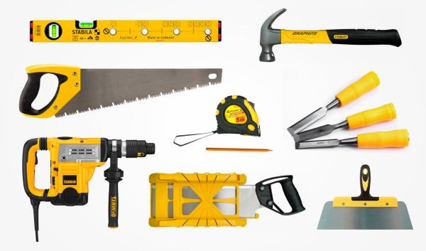 Набор инструментов для монтажа дверей