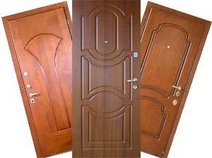 Накладки на дверь из МДФ разных видов