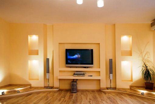 Ниши под телевизор и музыкальную аппаратуру