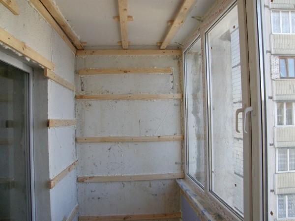 Обрешетка под монтаж стеновых панелей