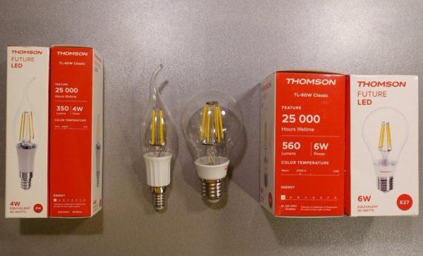 Одна из проблем этих лампочек — сравнительно небольшая максимальная мощность.