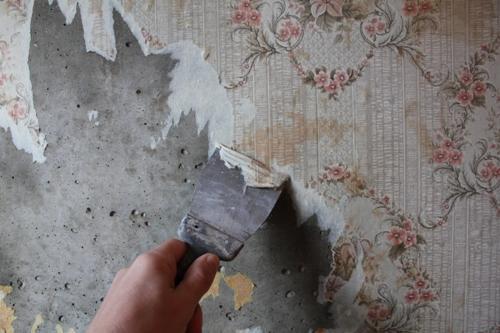 Снятие слоя старого покрытия