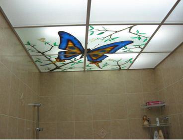 Оригинальный дизайн подвесного потолка станет украшением интерьера