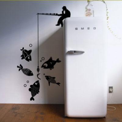 Оригинальный винил на холодильник