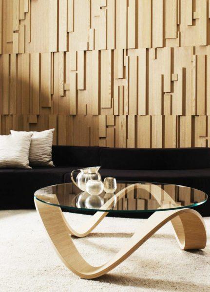 Отделка деревянными 3Д-панелями: дорого, престижно, непрактично.