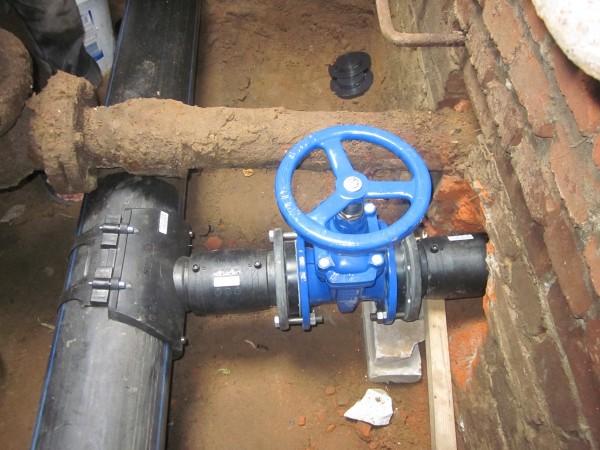 Отвод от магистрального водопровода