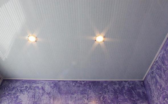 Панели подходят как для стен, так и для потолка