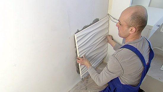 Перед монтажом гипсовых плит необходимо тщательно подготовить поверхность