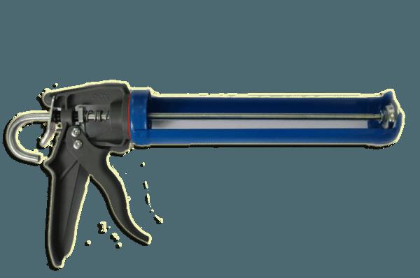 Пистолет для герметика позволяет точно и быстро наносить жидкие гвозди на звукоизоляционный материал