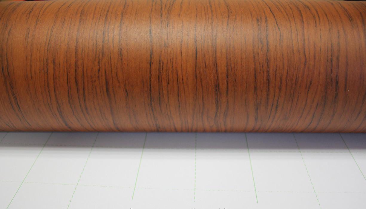 Пленка, имитирующая окраску ореховой доски
