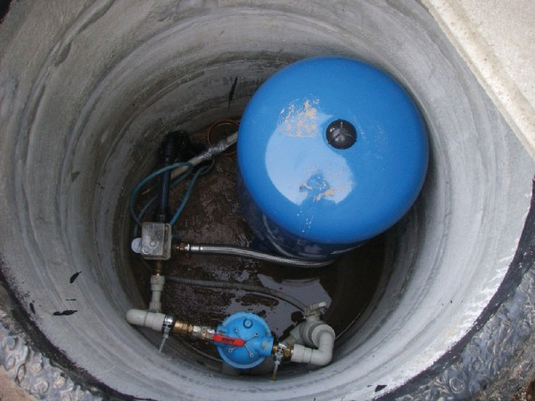 Подземный кессон для установки оборудования