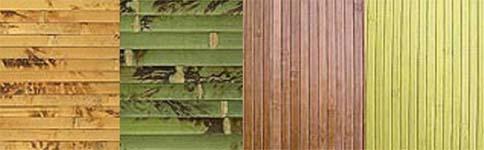 Разновидности бамбуковых полотен