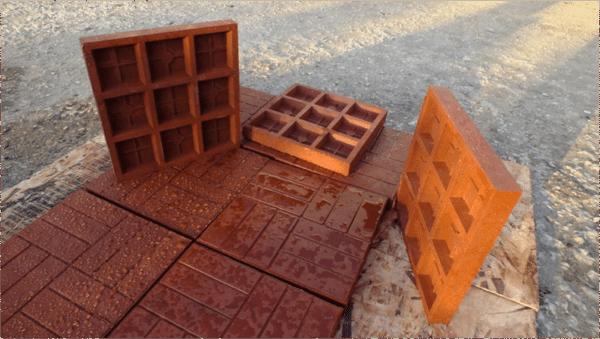 Полимерная основа обеспечивает повышенную влагостойкость материала