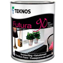 Полиуретановая эмаль Teknos FUTURA 90 обеспечит долговечность покрытий.