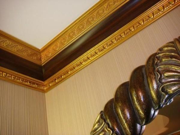 Полиуретановые галтели для роскошного интерьера