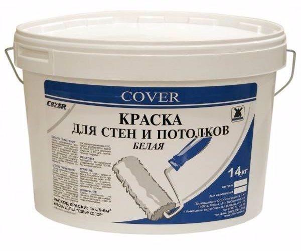 Поливинилацетатная краска применяется лишь для внутренних работ