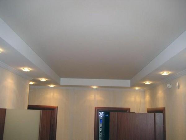 После окончания работ ваш потолок будет выглядеть отлично