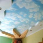 Потолок в детско комнате