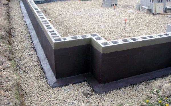 Поверхностная изоляция защищает сооружение с его внешней стороны.
