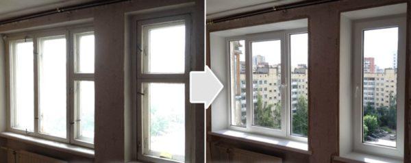 При замене старой столярки новыми герметичными окнами нарушается естественная вентиляция помещения