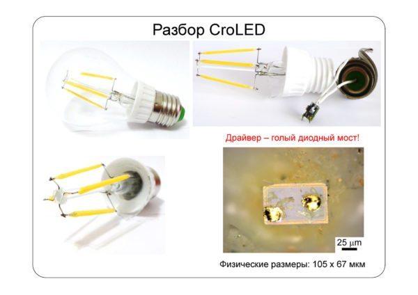 Причина привередливости современных ламп по отношению к питанию — в предельно упрощенном драйвере. От полноценного стабилизатора питания остался только выпрямитель, превращающий переменный ток в постоянный.