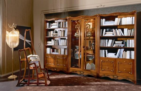 Причудливые формы мебели в стиле модерн