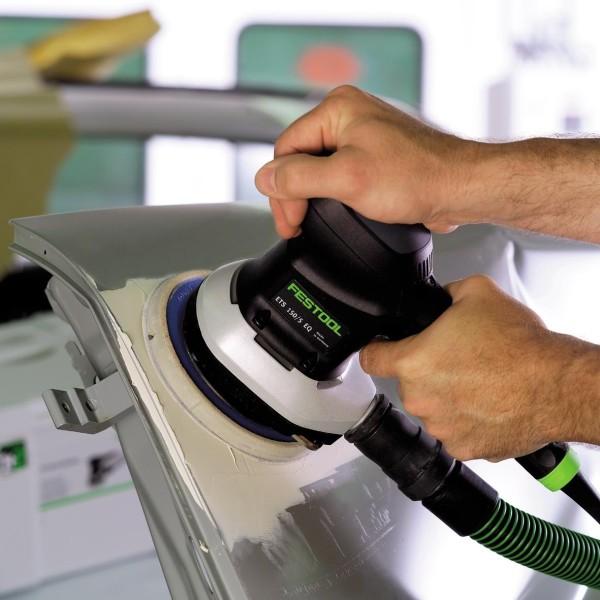 Применение эксцентриковой шлифовальной машинки в автосервисе