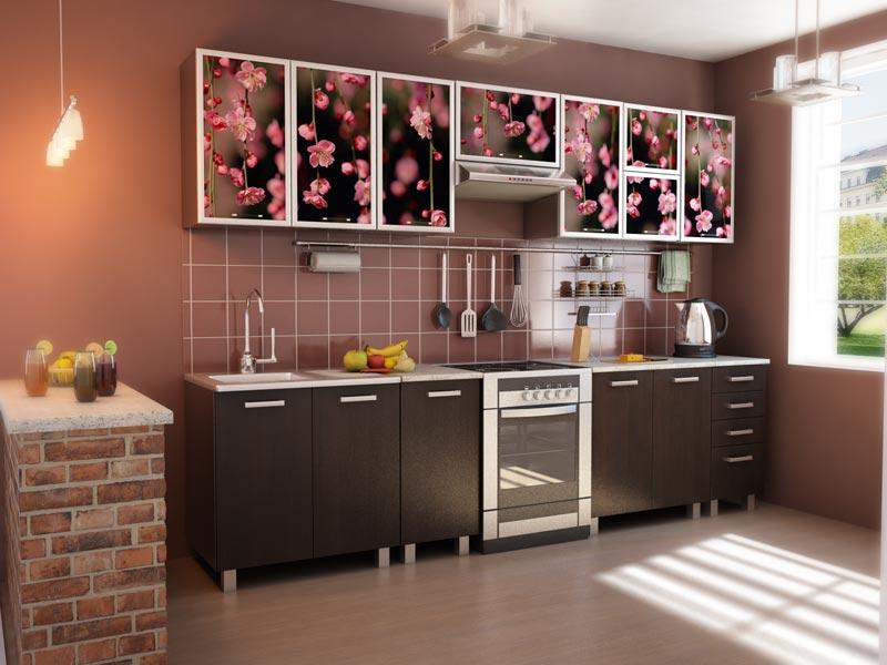 Пример дизайна кухни в панельном доме