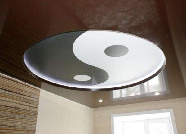 Пример двухуровневой конструкции с подсветкой