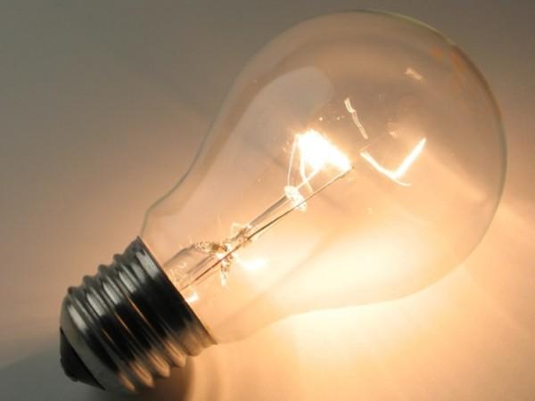 Пример лампы накаливания