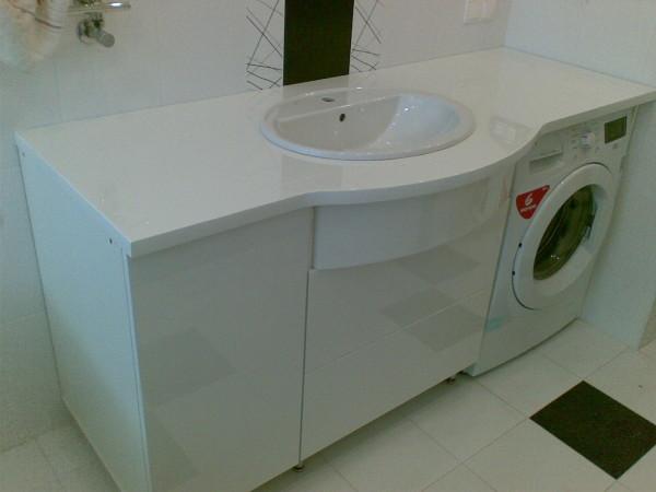 Пример столешницы для ванной