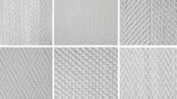 Пример текстуры стеклообоев